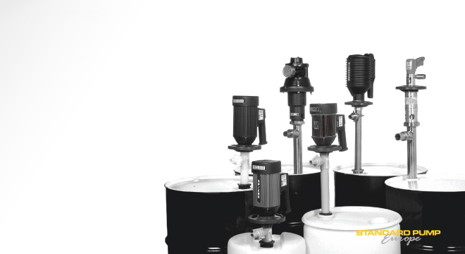 Drum pumps for high and low viscosity liquids